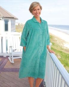 Chenille Zip Robe - Shop National